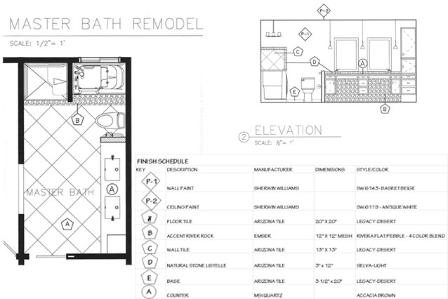 An aging in place bathroom a kinder space for Aging in place floor plans